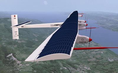 Solar Impulse: Prototipe pesawat dengan tenaga surya